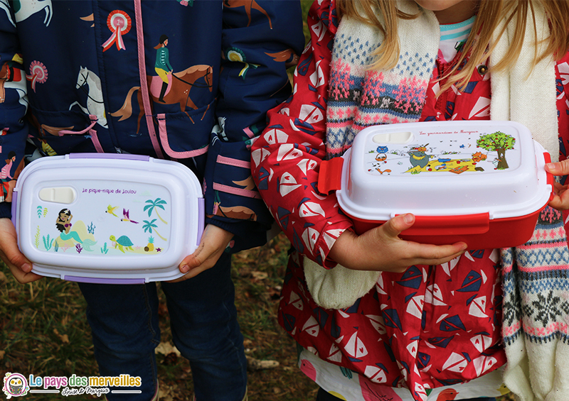 Lunchboxes personnalisées pour les enfants