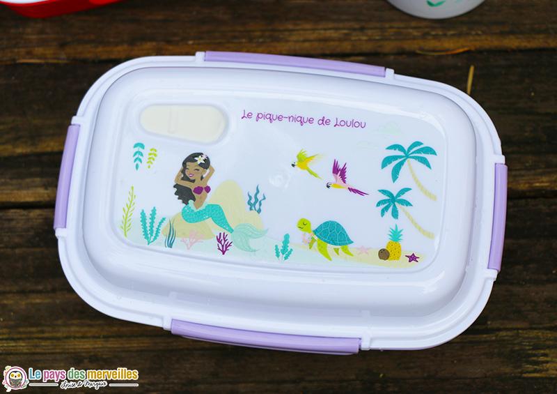 lunchbox personnalisée sirène
