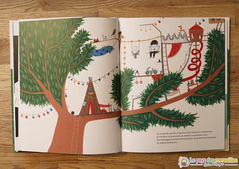 Détails des dessins du livre Ma Cabanamoi