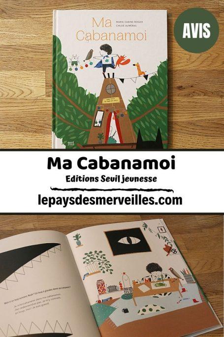 Livre pour enfant Ma Cabanamoi