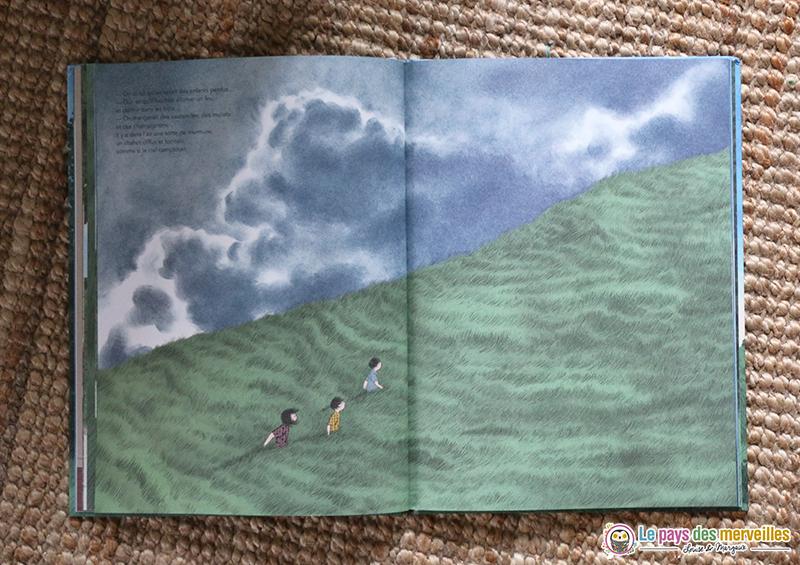 livre tempête enfants