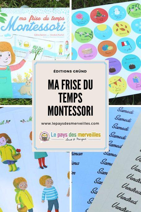 Ma frise du temps Montessori aux éditions Gründ