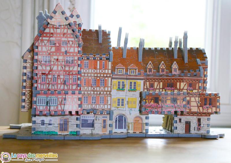 Maison d'Alsace en puzzle 3 dimensions