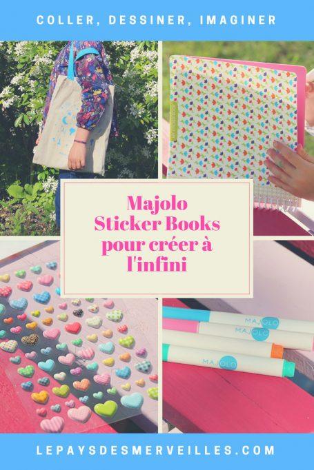 Majolo, des sticker books pour créer à l'infini