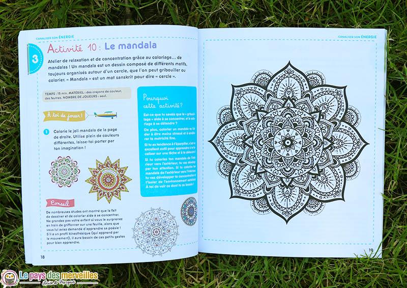 Coloriage Mandala pour apprendre à se concentrer