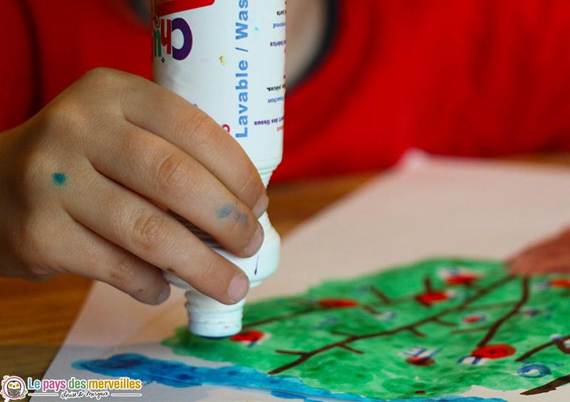 Marqueur de coloriage lavable