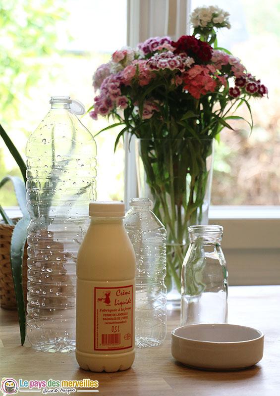 matériel et recette du beurre maison
