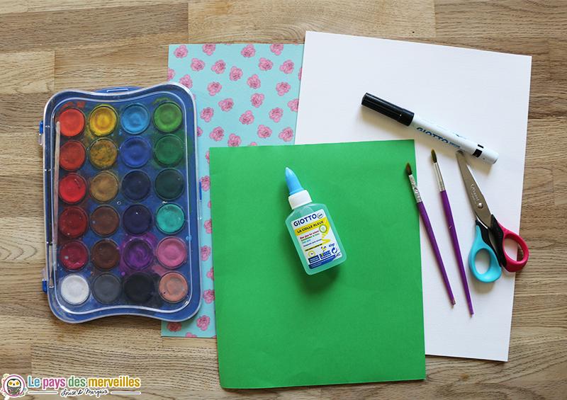liste matériel créatif