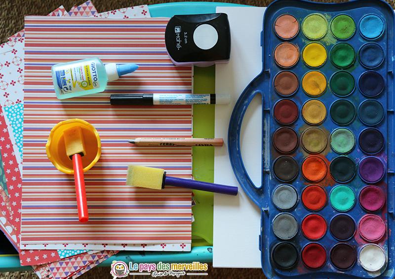 Matériel créatif enfant