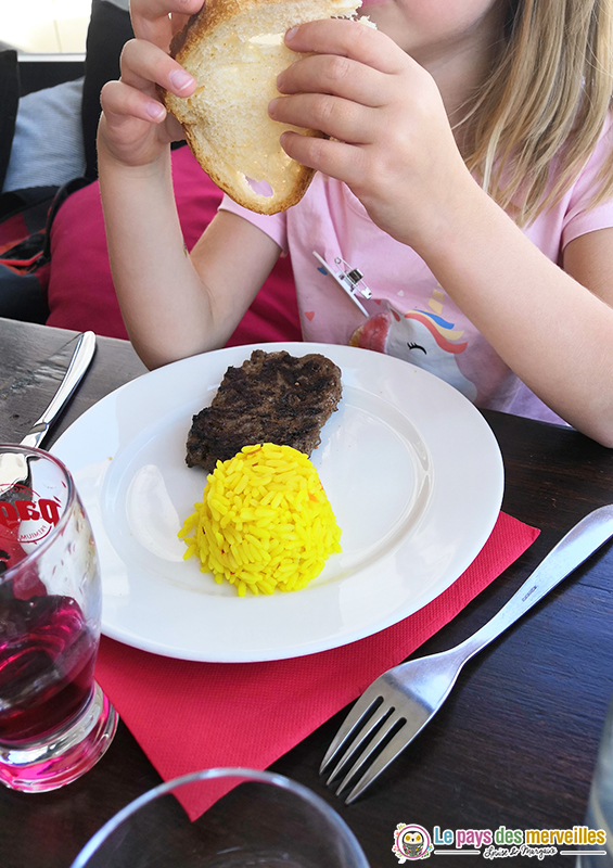 Menu enfant Restaurant L'Albatros Audierne