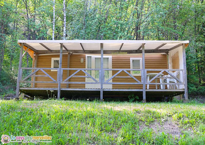 Mobile-home camping le lac Serre-Ponçon Saint Vincent les Forts