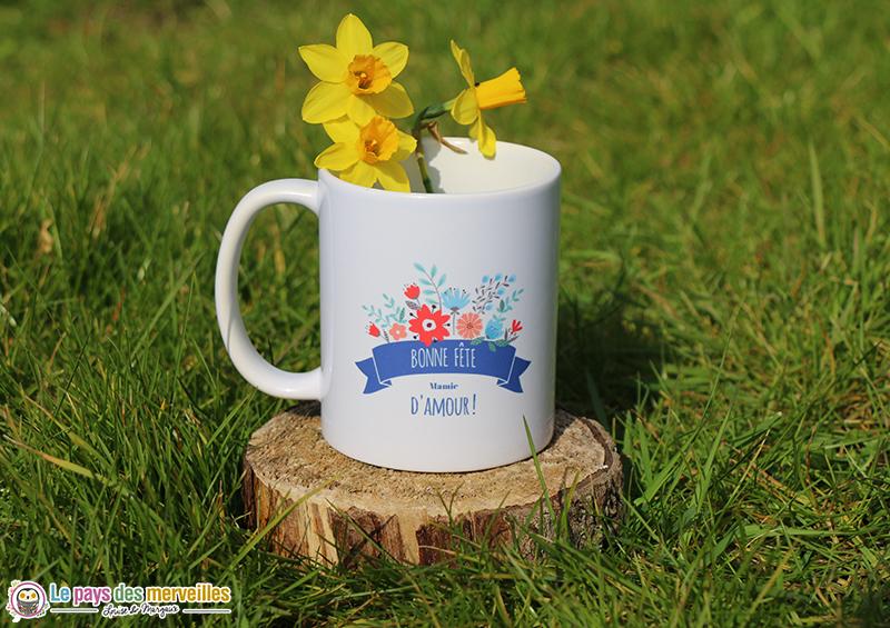 mug personnalisé pour la fête des grands-mères