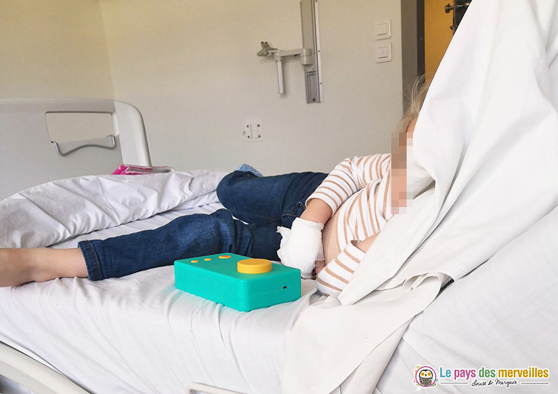 Occuper un enfant lors d'une hospitalisation
