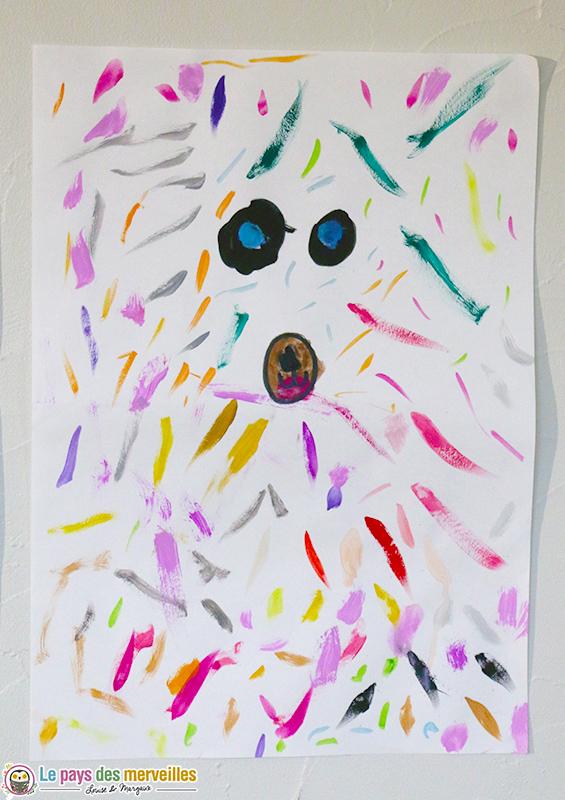ours coloré maternelle