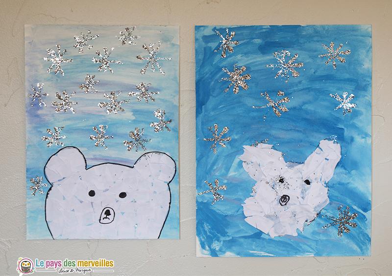 Art visuel ours polaire