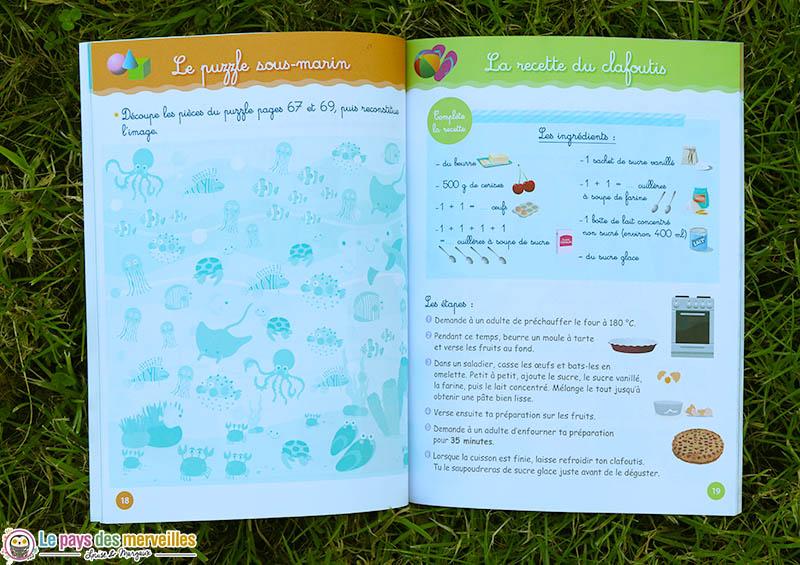 activité et recette Montessori