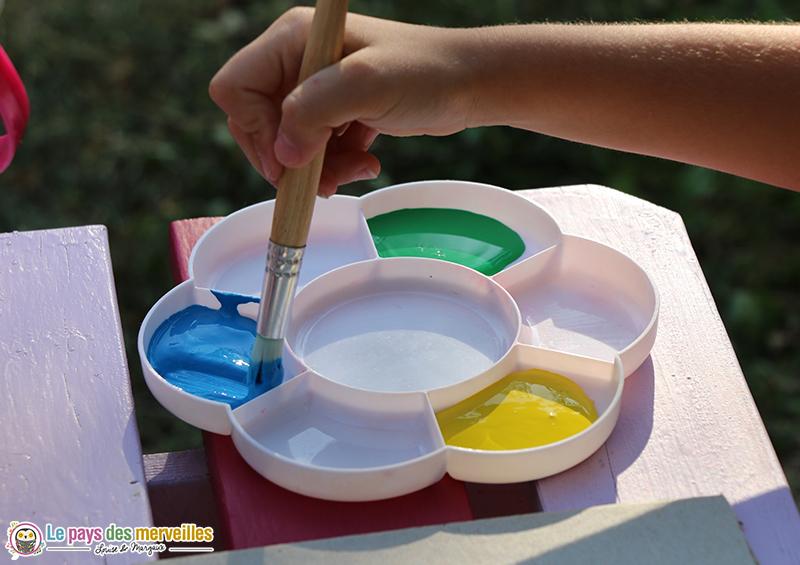 peinture gouache