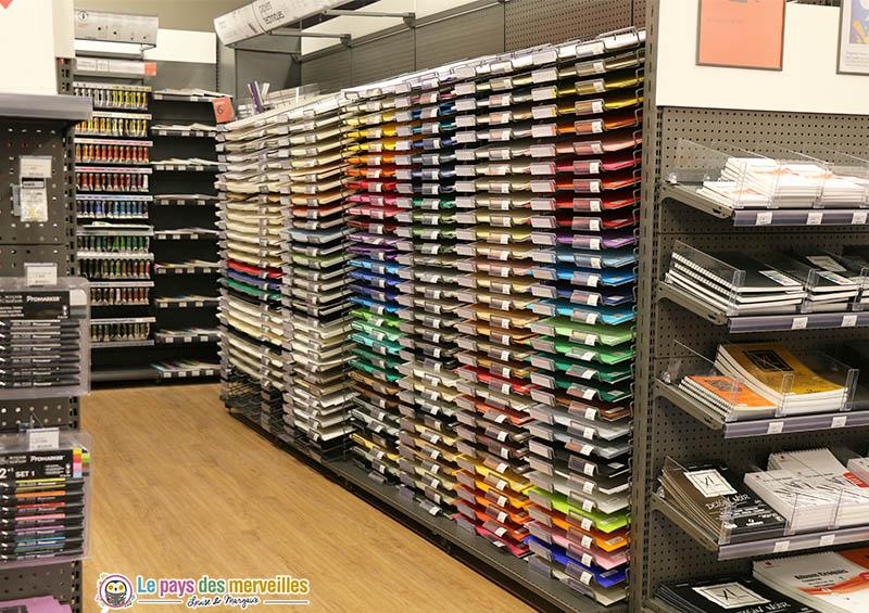 Papiers colorés Cultura