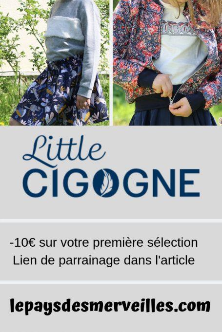 Sélection de vêtements Little Cigogne