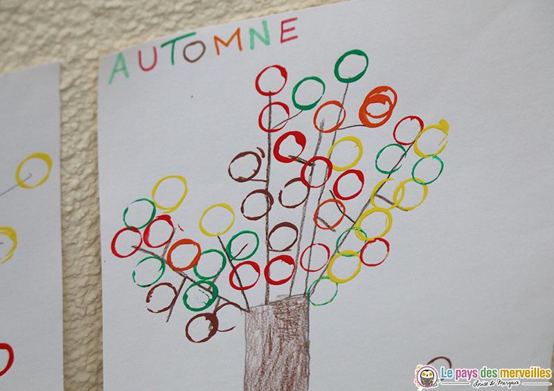 activité d'automne