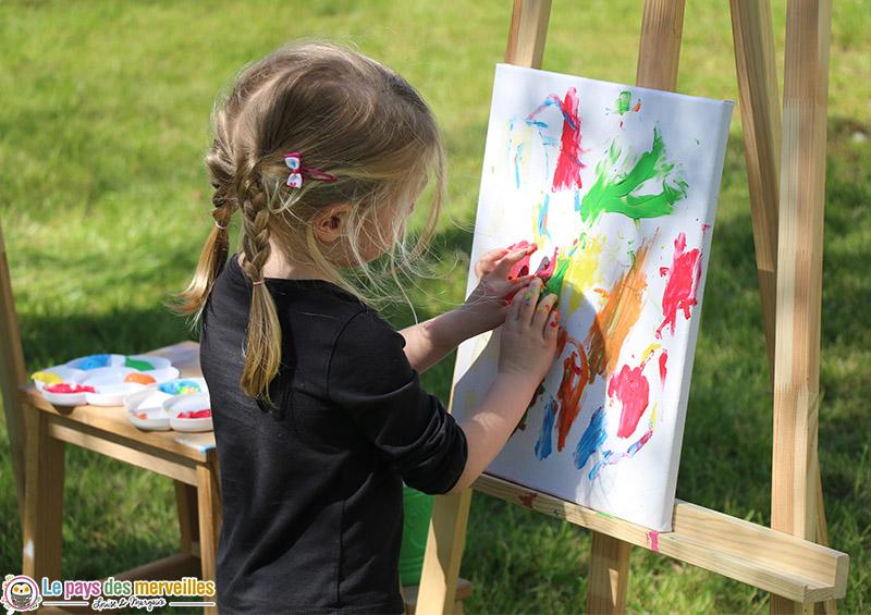 Activité peinture libre