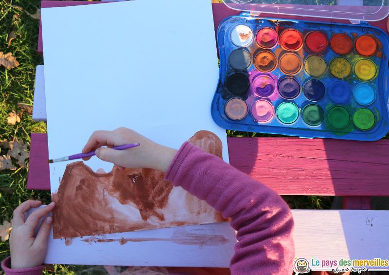 Peinture à l'aquarelle