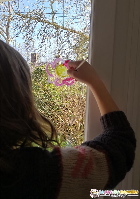 peinture facile sur les fenêtres