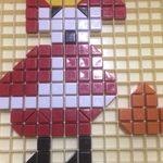Petit chaperon rouge en mosaïques
