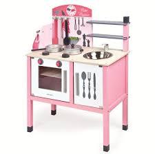 Petite cuisine en bois rose Janod