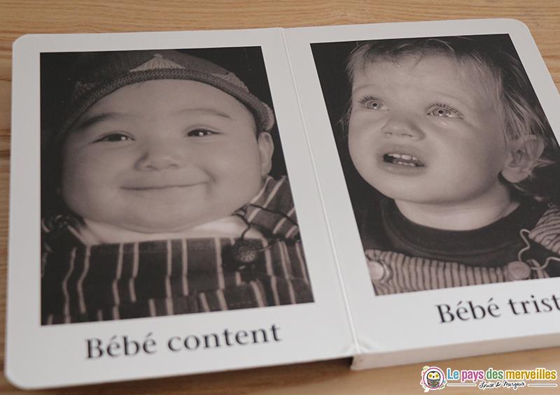 émotions bébé livre