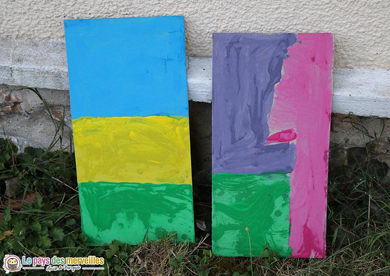peinture gouache carton