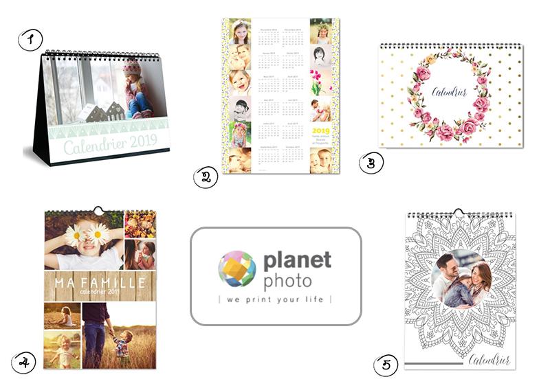 Planet photo, un site pour réaliser des calendriers photos personnalisés