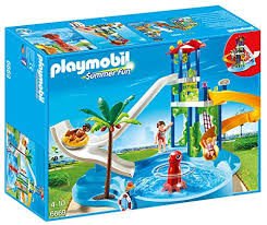 Playmobils piscine