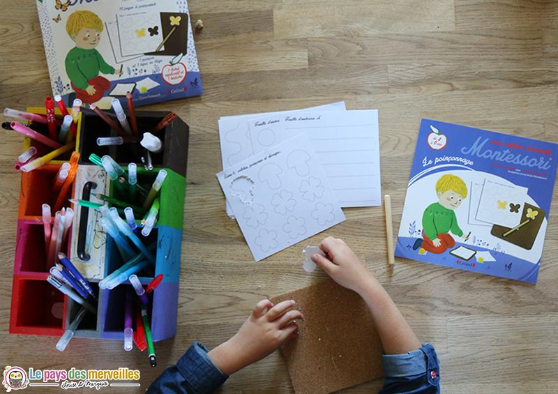 Poinçonnage pour enfants de 4 à 6 ans