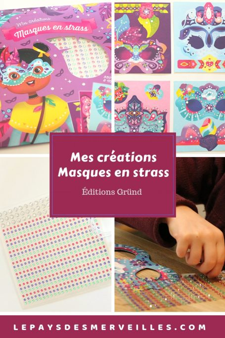 Mes créations Masques en strass Grund