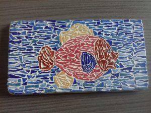 poisson en mosaïques