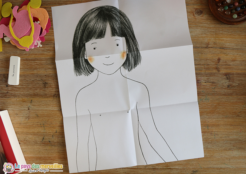 Poster fille 1 mètre