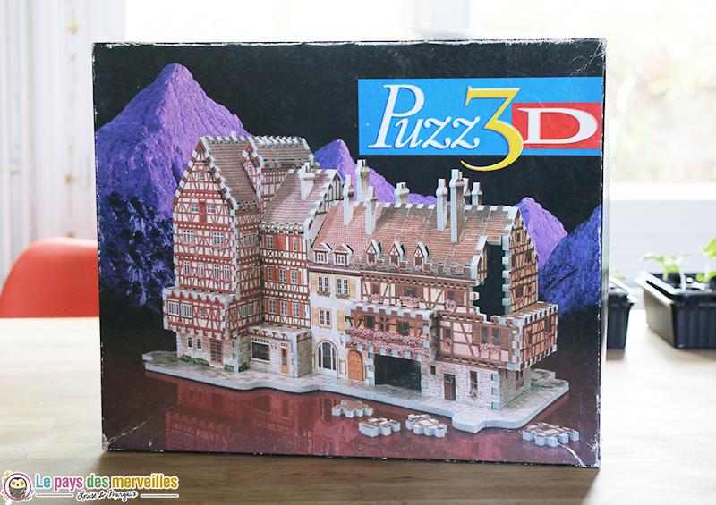 Puzzle 3D maison du Rhin