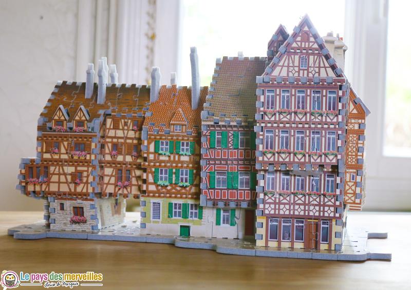Puzzle 3D maison d'Alsace