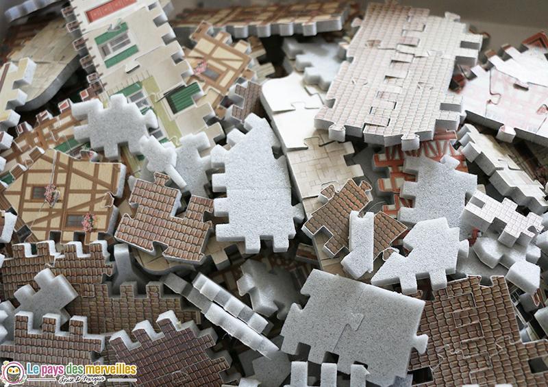 Pièces de puzzle en mousse