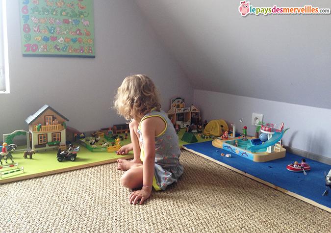 Planche pour jouer au Playmobil