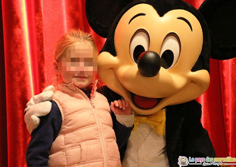 Rencontre avec Mickey à Disney