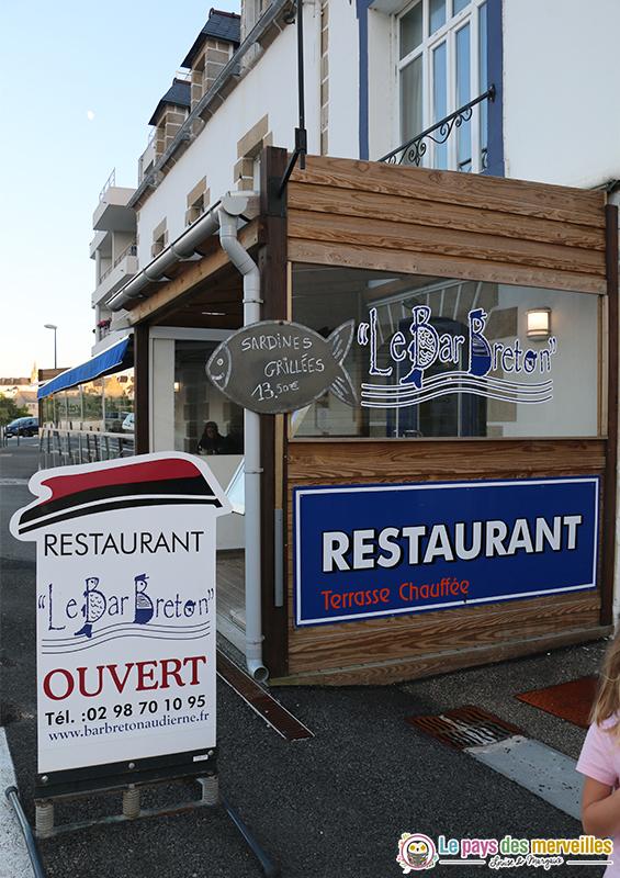 Restaurant Le bar Breton Audierne