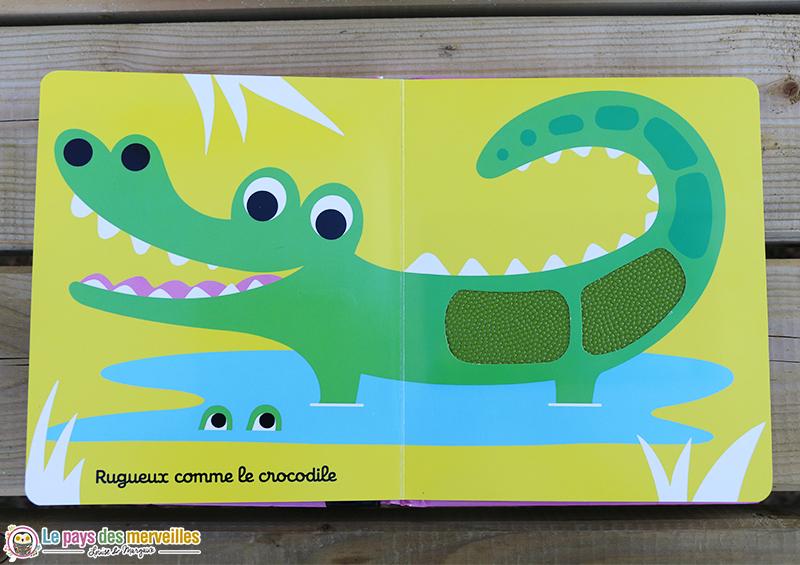 rugueux comme le crocodile