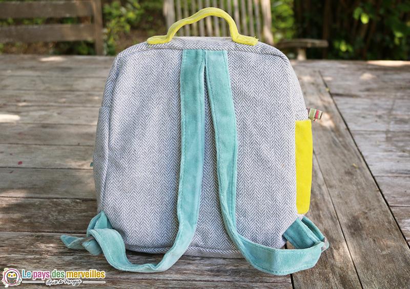 Bretelles réglables sac à dos pour la crèche