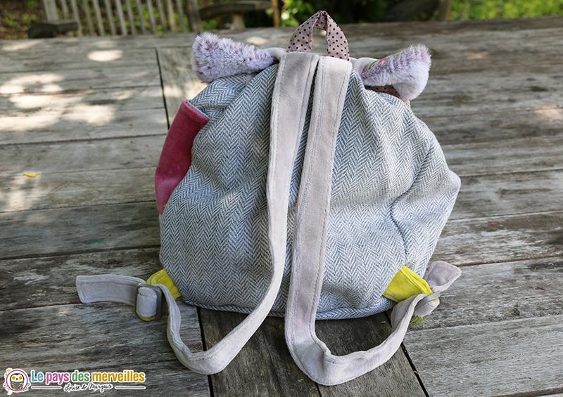 Bretelles réglables sac à dos pour la maternelle