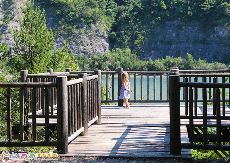 Sentier du barrage de Serre-Ponçon