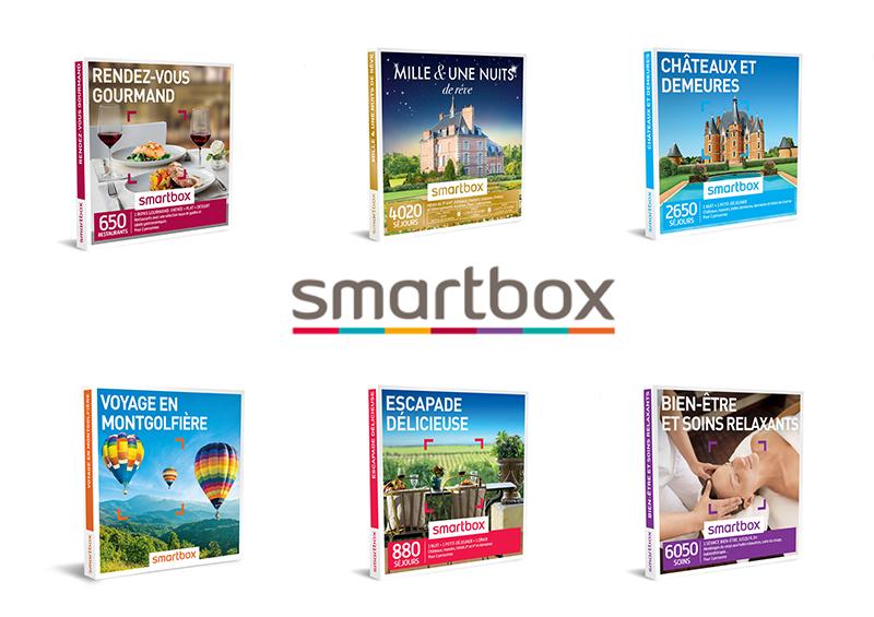 idées de coffrets Smartbox pour Noël