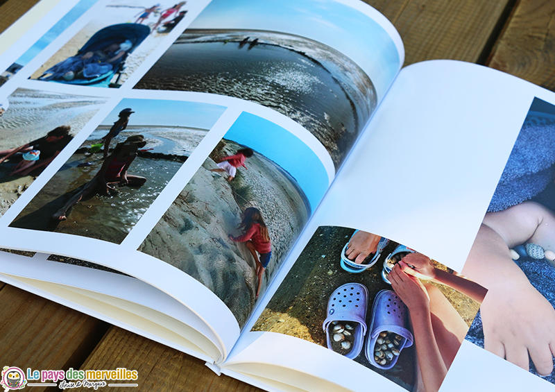 créer un album photo souvenirs