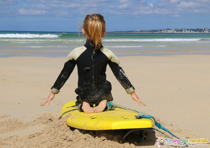 Initiation surf pour les enfants Audierne